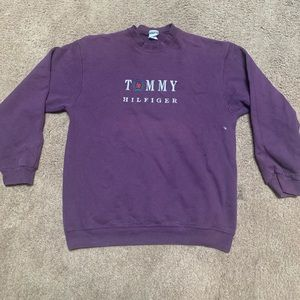 Vtg Tommy Hilfiger Crewneck Sweatshirt Large.